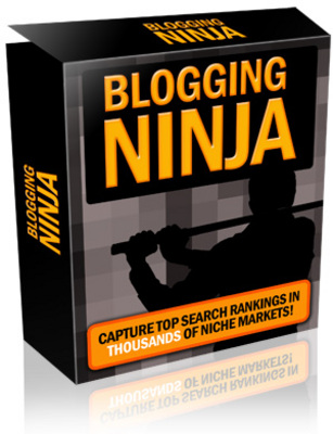 Product picture Blogging Ninja with Master Resell Rights